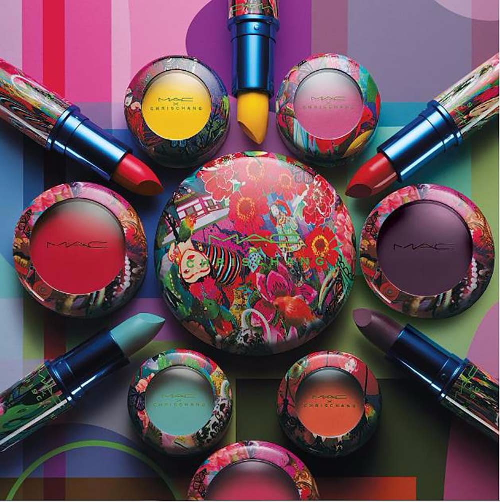 MAC x Chris Chang – Kosmetikk i fabelaktige farger