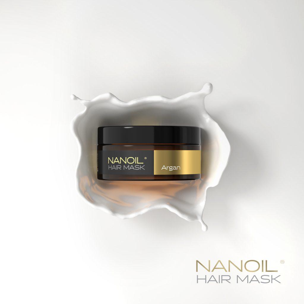 Nanoil argan hårmasker