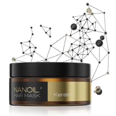 Keratin mask for skadet hår av Nanoil
