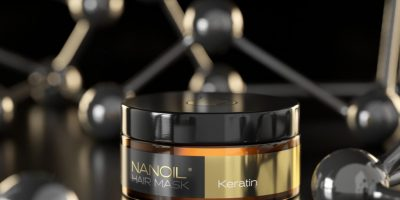 Nanoil keratin hårmaske
